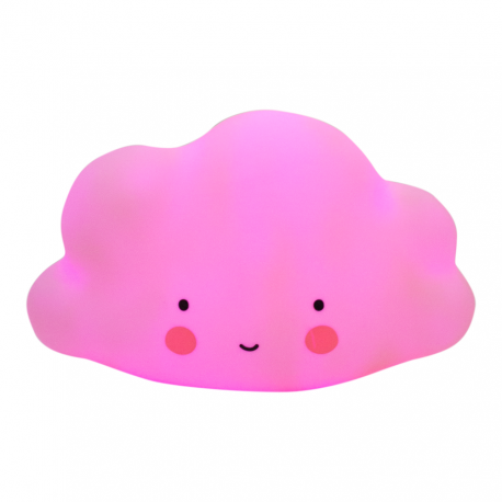 A LITTLE LOVELY COMPANY Mini Cloud Light Pink