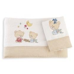DIM Πετσέτες Happy Bears Λευκο