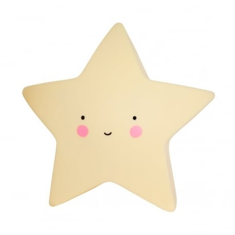 A LITTLE LOVELY COMPANY Mini Star Light Yellow