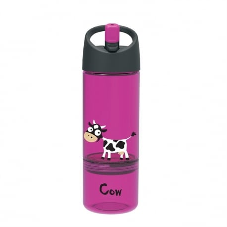 CARL OSCAR Drink & Eat 2 in 1 Bottle Purple