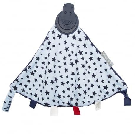 CHEEKY CHOMPERS  Νάνι και Μασητικό Μπλε με Αστέρια
