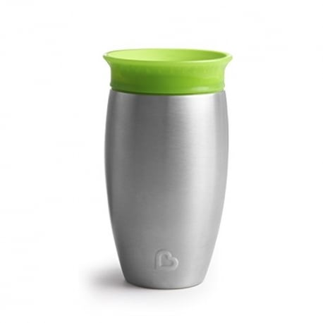 MUNCHKIN Miracle Stainless Steel 360° Sippy Cup Λαχανί