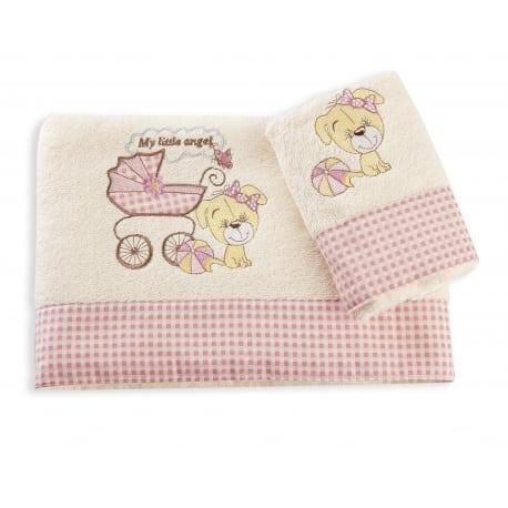 DIM Πετσέτες My Angel Ροζ