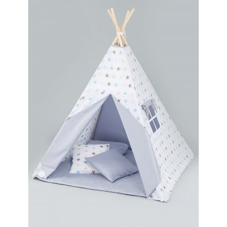 TUTTOLINA Παιδική Σκηνή Teepee Stars Blue