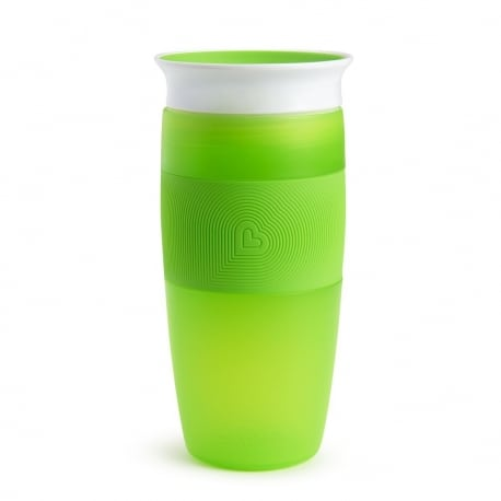 MUNCHKIN Κύπελο Miracle 360° TALL MIRACLE SIPPY 414ML 18m+ Green