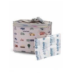 MY BAGS Θερμομονωτική Τσάντα για Πικ - Νικ We Love Travel