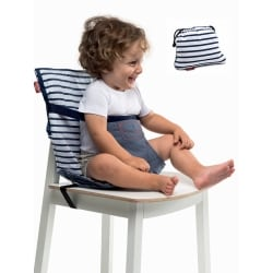 BABYTOLOVE Pocket Chair – Μπλε Ριγε