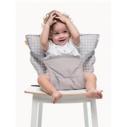 BABYTOLOVE Pocket Chair – Γκρι Αστερια