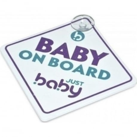 JUST BABY Σήμα Baby on Board