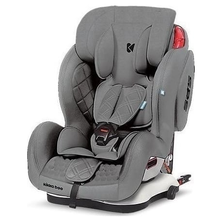 KIKKA BOO Major Isofix Gray