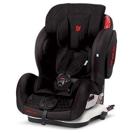 KIKKA BOO Major Isofix Black