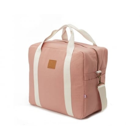 MY BAGS Βαλίτσα Μαιευτηρίου και Παιδική Τσάντα Happy Family Pink