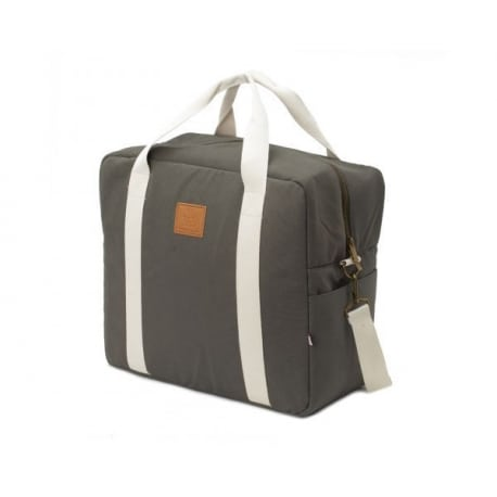 MY BAGS Βαλίτσα Μαιευτηρίου και Παιδική Τσάντα Happy Family Grey