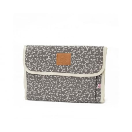 MY BAGS Αλλαξιέρα Liberty Flowers Dark Grey