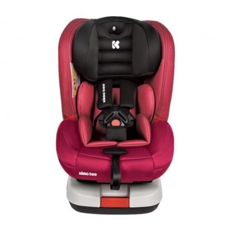 KIKKA BOO 4 Strong Isofix Rasberry