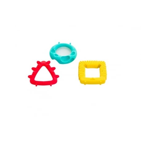 BABY TO LOVE Educational Geometry Animal Teethers