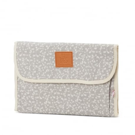 MY BAGS Αλλαξιέρα Liberty Flowers Light Grey