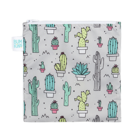Bumkins Large Snack Bag Cacti