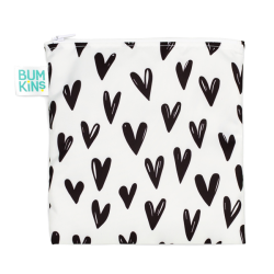 Bumkins Large Snack Bag Hearts