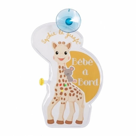 SOPHIE LA GIRAFE Baby on Board σήμα με φωτάκια