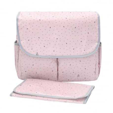 MY BAGS Τσάντα Αλλαξιέρα Leaf Pink