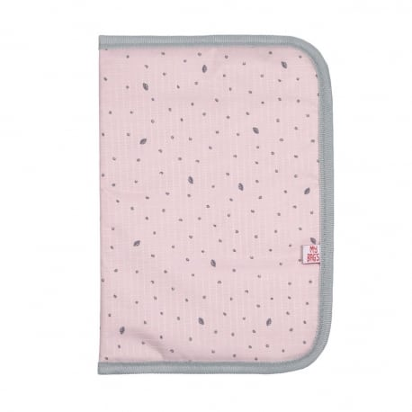 MY BAGS Θήκη Βιβλιαρίου Υγείας Leaf Pink