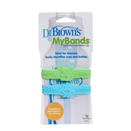 DR BROWN'S My Bands Πράσινο