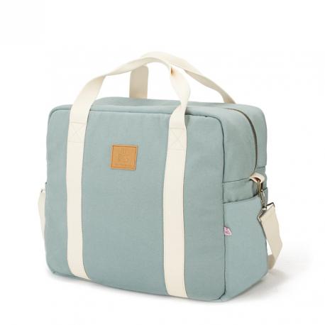 MY BAGS Βαλίτσα Μαιευτηρίου και Παιδική Τσάντα Happy Family Aquamarine