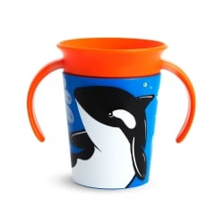 MUNCHKIN Κύπελο Miracle 360° Trainer Cup 12m+ 177ml. Orca