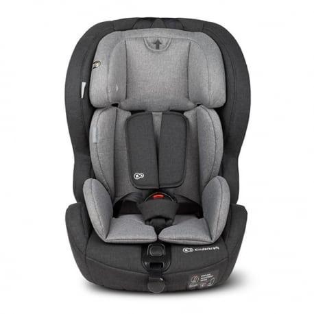 KINDERKRAFT Παιδικό κάθισμα αυτοκινήτου Black / Grey Isofix