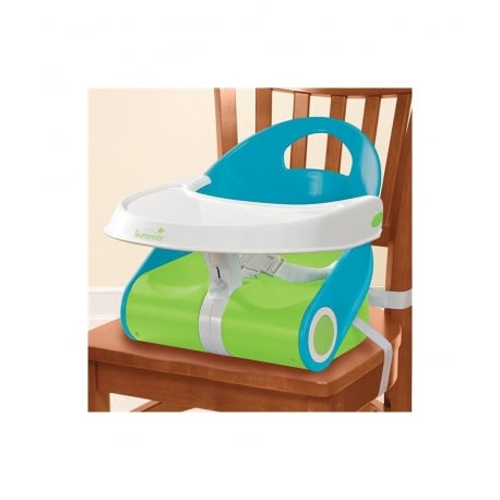 SUMMER INFANT Sit n Style Booster Blue/Green