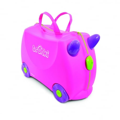 TRUNKI Παιδική Βαλίτσα Ταξιδίου Trixie Pink
