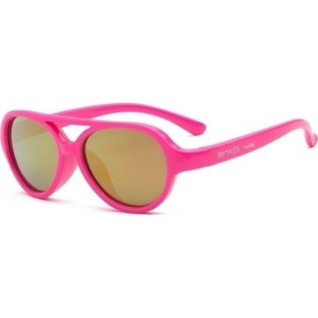 REAL SHADES  Γυαλιά ηλίου Sky Toddler 2-4 ετών Neon Pink Aviator