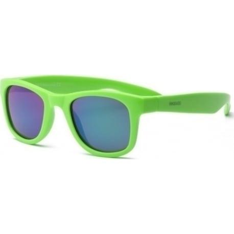 REAL SHADES Γυαλιά ηλίου Surf Kid 4-6 ετών Neon Green Wayfarer