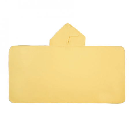 LITTLE CHAMPIONS Μπουρνούζι - Πετσέτα Microfiber Shark Yellow