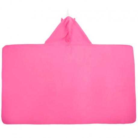 LITTLE CHAMPIONS Μπουρνούζι - Πετσέτα Microfiber Unicorn Pink