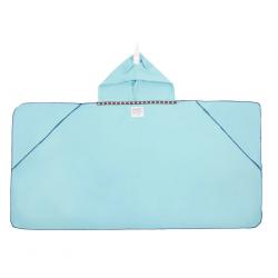 LITTLE CHAMPIONS Μπουρνούζι - Πετσέτα Microfiber Unicorn Light Blue