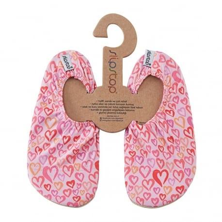 SLIPSTOP Αντιολισθητικές Παντόφλες Hearts
