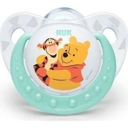 NUK Trendline Disney Winnie the Pooh Ορθοδοντική Πιπίλα Σιλικόνης  6-18m 1τμχ Tirquaze