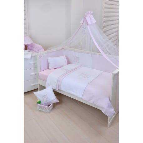 BABY OLIVER Pink Bunny 357 Σετ Προίκας