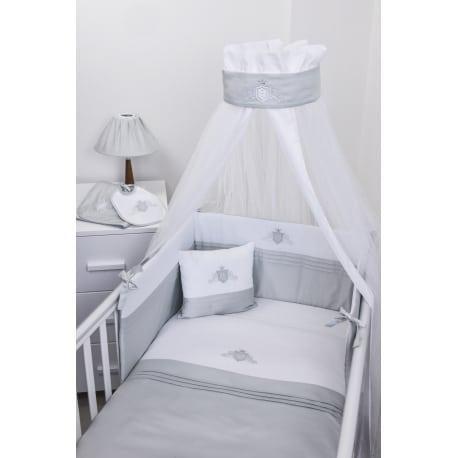 BABY OLIVER Satin Grey 383  Σετ Προίκας