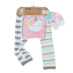 ZOOCCHINI Grip+Easy Crawler Pants & Socks Set – Allie the Alicorn
