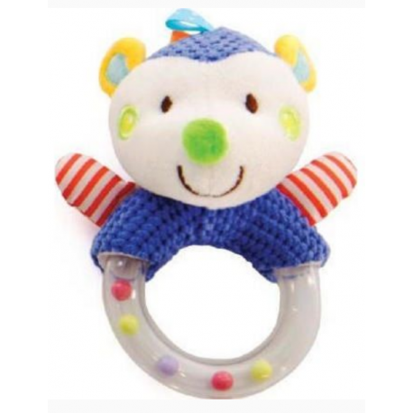Kikkaboo Hedgehog plastic rattle
