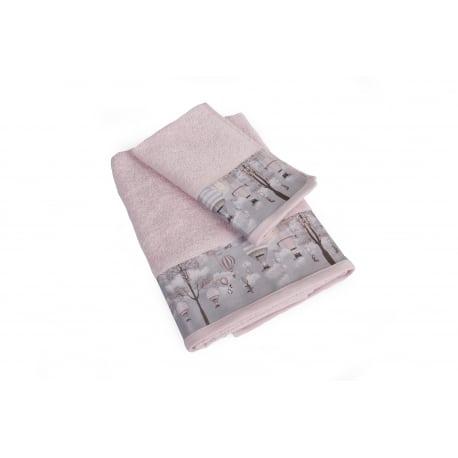 DIM Πετσέτες Serenity Ροζ