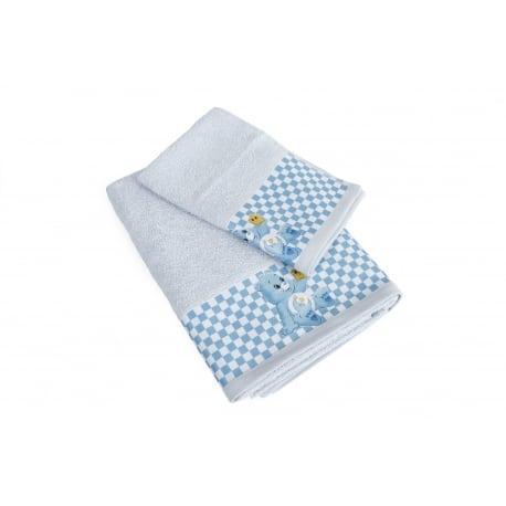 DIM Πετσέτες Baby Bear Σιέλ