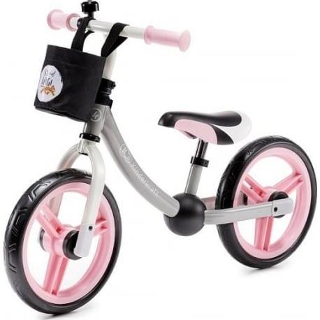 KINDERKRAFT Παιδικό Ποδήλατο Ισορροπίας 2Way Next Light Pink