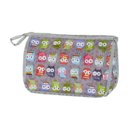 My Bags Νεσεσέρ Καλλυντικών Owl Grey