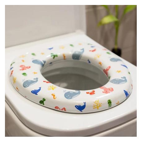 KIOKIDS Στεφάνι WC με Μαλακό Κάθισμα Θαλάσσιος Βυθός