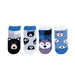 FLAPJACKKIDS Mix and Match Socks – Wolf/Bear