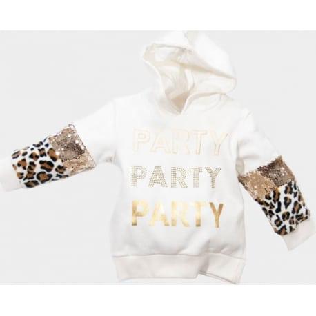"""NEW COLLEGE Μπλούζα με κουκούλα """"Party"""""""